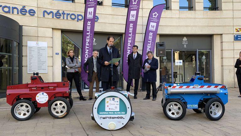 Montpellier : première en France, des droïdes de livraisons débarquent dans le centre-ville