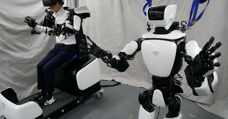 Toyota dévoile son robot humanoïde amélioré