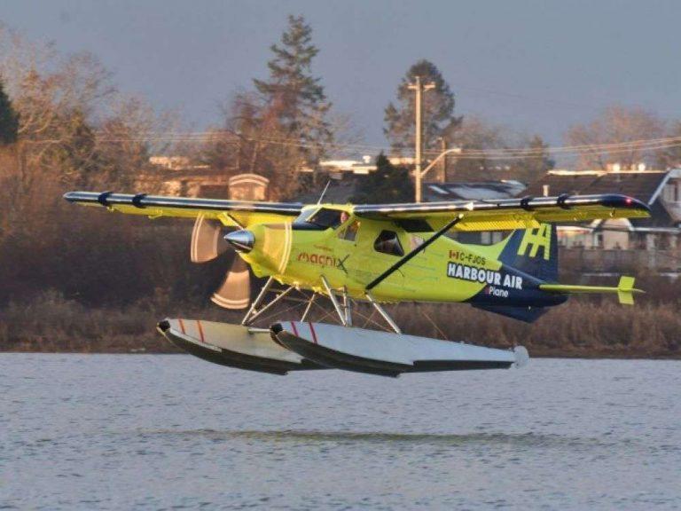 Un hydravion commercial électrique réussit son vol d'essai, une première mondiale