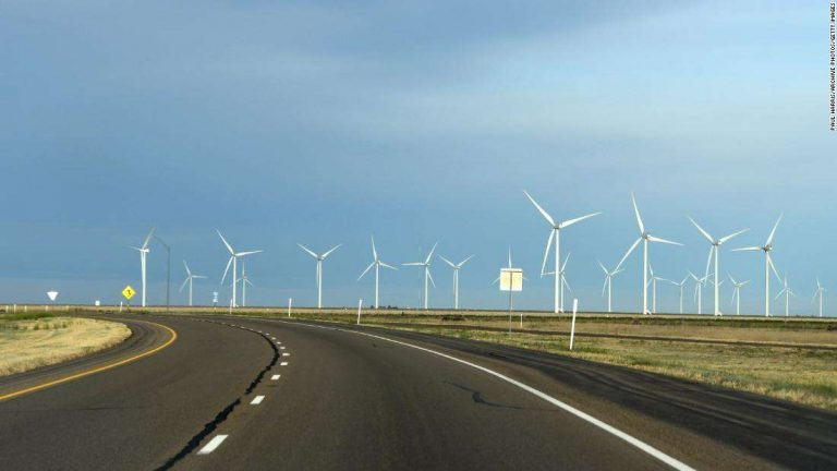 Wind is outpacing coal as a power source in Texas for the first time