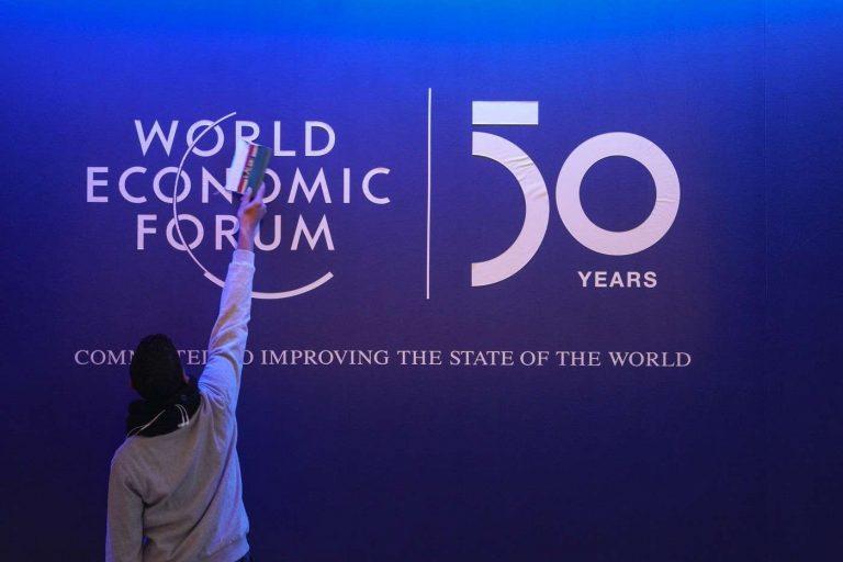 À Davos, un Forum économique mondial sur fond d'inquiétude climatique