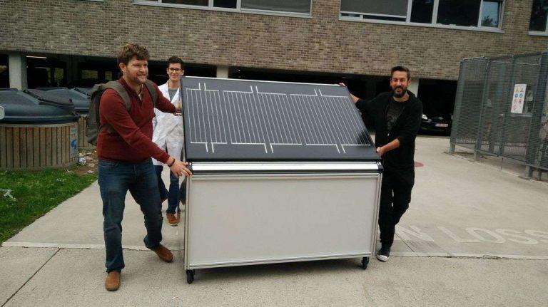 Des chercheurs belges développent un panneau solaire qui produit de l'hydrogène