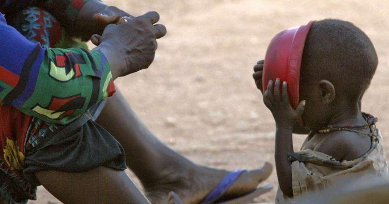 La famine menace 45millions de personnes dans les pays d'Afrique australe
