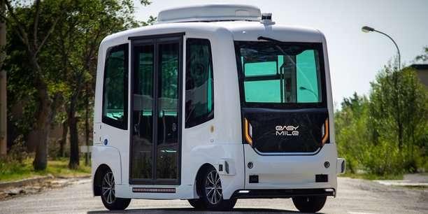 Le véhicule autonome roule déjà avec EasyMile