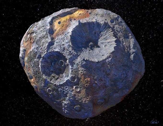 Psyché, l'astéroïde qui pèse des milliards de milliards de dollars