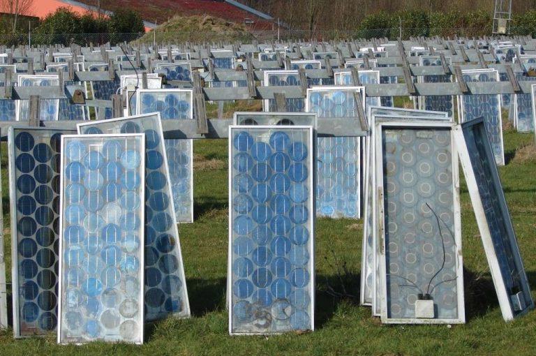 En 2019 la France a recyclé plus de 5.000 t de panneaux solaires usagés