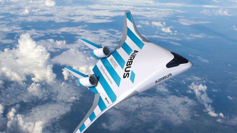 Airbus dévoile Maveric, son avion du futur moins gourmand en carburant
