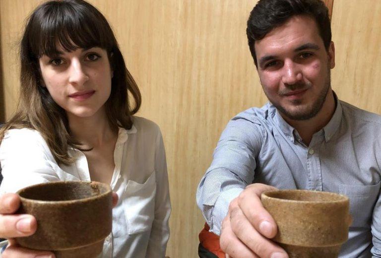 La start-up marseillaise Repulp, pressée de produire ses «cup»