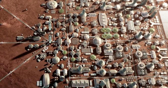 10 000 dollars à gagner pour qui imaginera une ville martienne où vivront un million de personnes