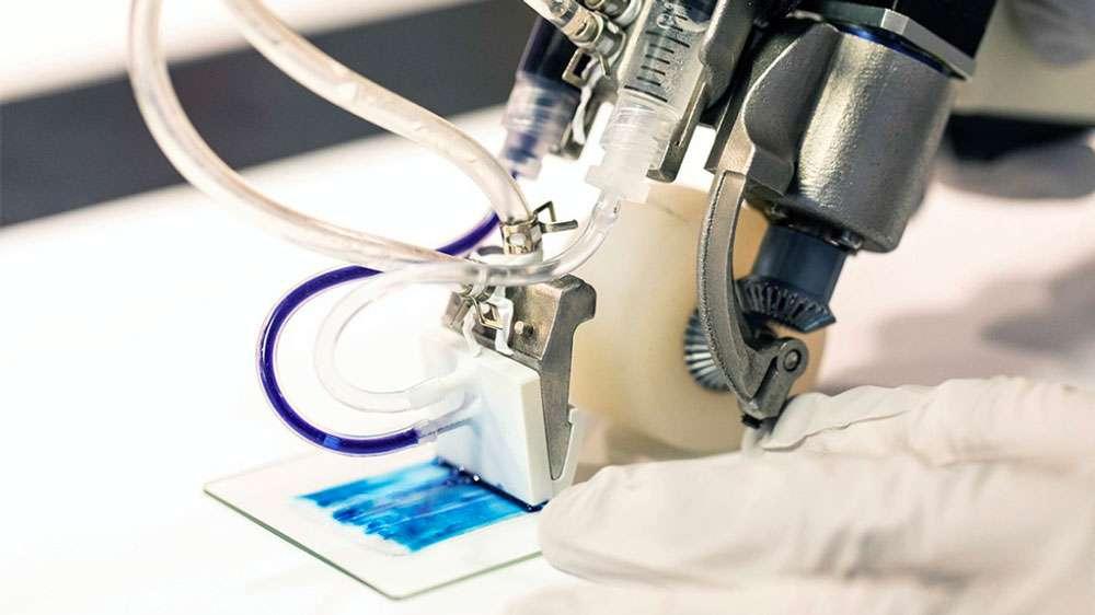 Cet appareil portable imprime une nouvelle peau directement sur les blessures