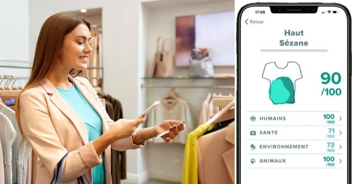 L'appli Clear Fashion note la fabrication des vêtements