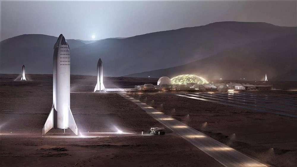 Elon Musk révèle quelques détails sur les plans de SpaceX pour une super-colonie martienne