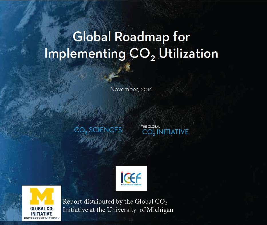 Global Roadmap for Implementing CO2 Utilization
