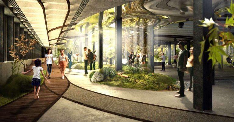 La ville souterraine : le nouveau terrain de jeux des architectes