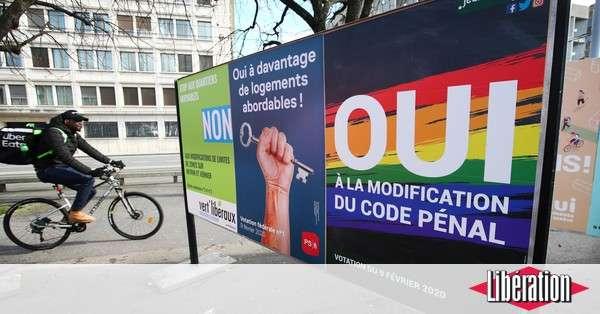 Les Suisses disent oui à la criminalisation de l'homophobie