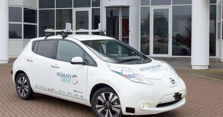 Royaume-Uni : la Leaf de Nissan parcourt 370 kilomètres de manière autonome