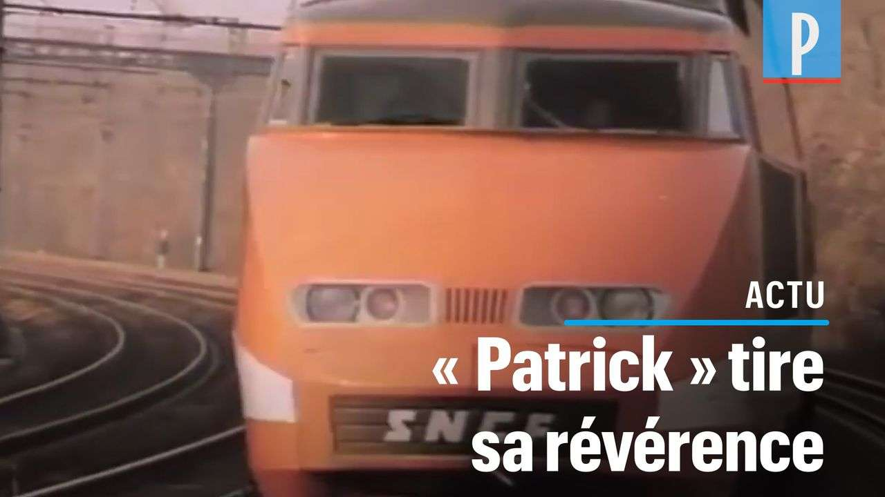 VIDÉO. Pourquoi le premier TGV s'appelait «Patrick»