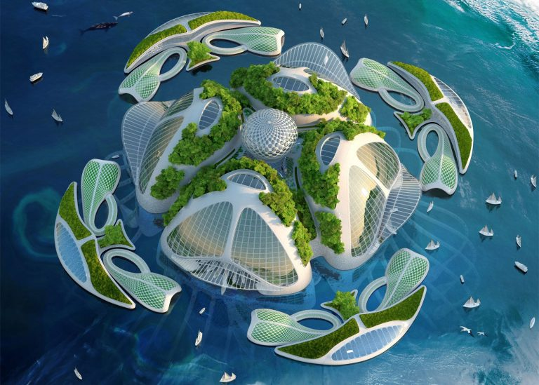 L'architecte-designer Vincent Callebaut imagine la ville de demain