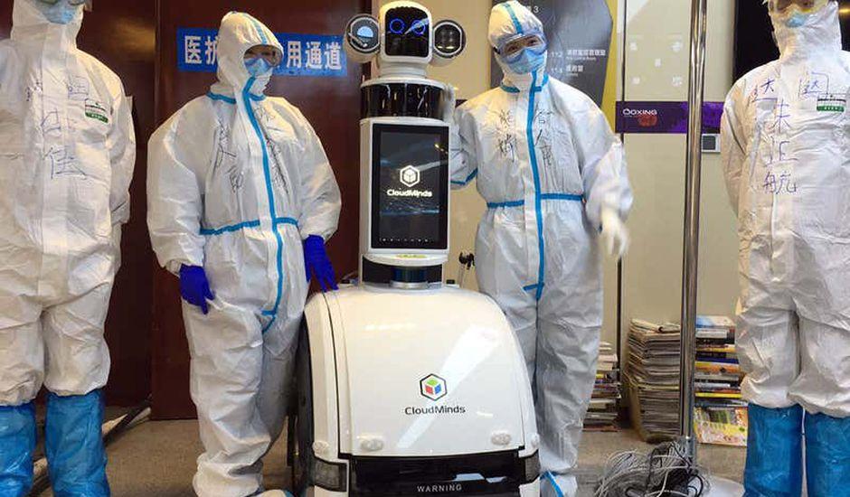 Covid-19 : la Chine ouvre un service hospitalier entièrement robotisé
