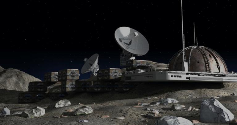 Les bases lunaires pourraient être construites avec l'urine des astronautes