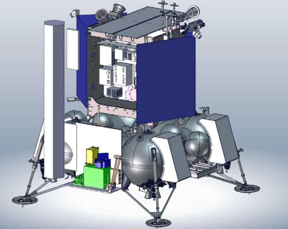 Lune : l'instrument Prospect exploitera l'eau stockée au pôle Sud. Explications