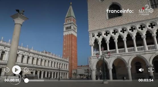 VIDÉO. Le tourisme de masse à Venise, c'est fini