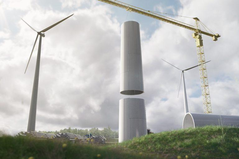 En Suède, une éolienne en bois ouvre la voie d'une production commerciale