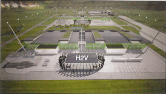 H2V INDUSTRY PRODUCTION MASSIVE D'HYDROGÈNE VERT