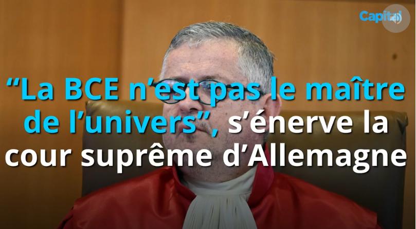 """""""La BCE n'est pas le maître de l'univers"""", s'énerve la cour suprême d'Allemagne"""