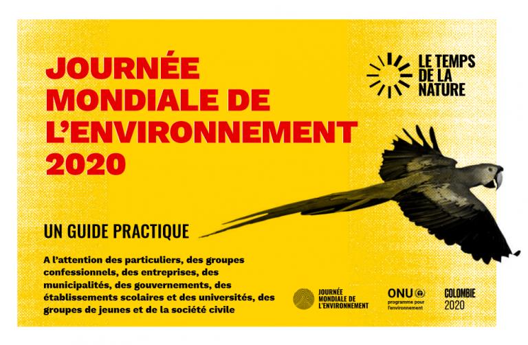 ONU : JOURNÉE  MONDIALE DE  L'ENVIRONNEMENT  2020