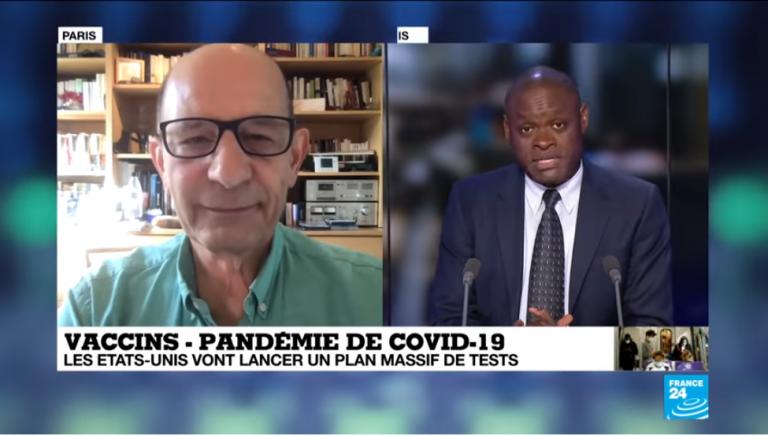 Tests massifs de vaccins contre le Covid-19 aux États-Unis : «Du jamais vu» pour Frédéric Tangy