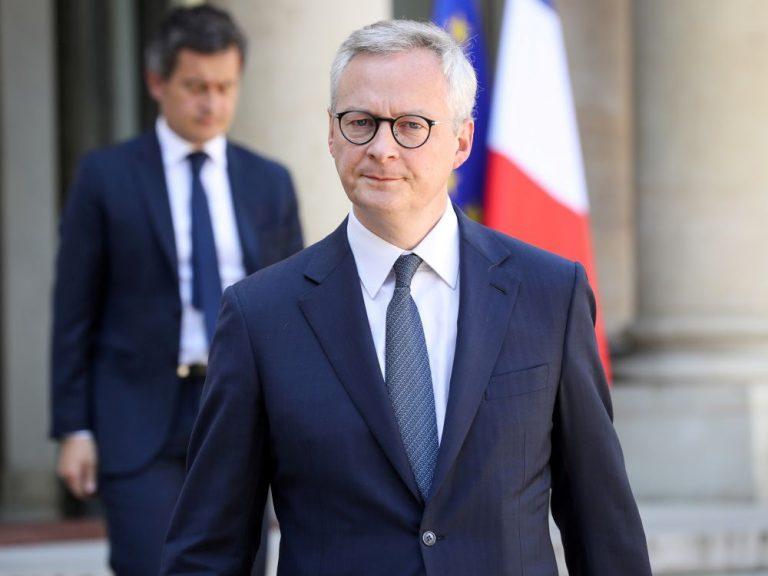 L'Etat a mobilisé €450 mds pour l'économie française, dit Le Maire