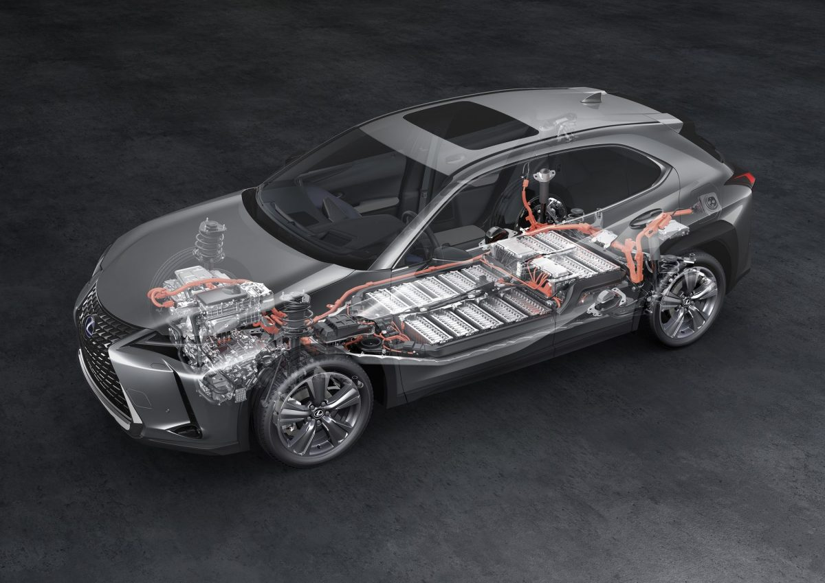 Lexus UX300e : des batteries garanties 1 million de kilomètres