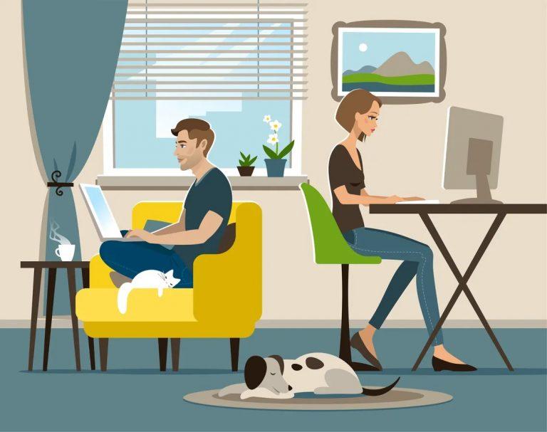 «C'est du temps de gagné» : ceux qui ont pris goût au télétravail ne veulent plus retourner au bureau