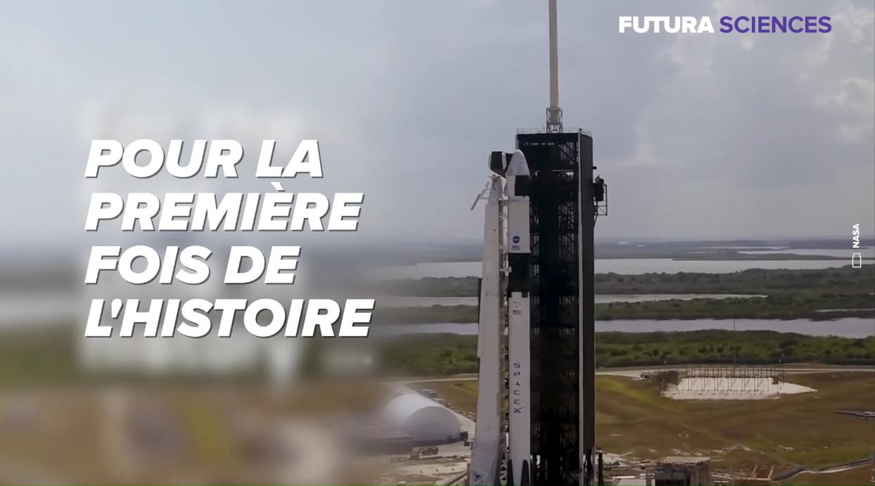 SpaceX : revivez le lancement réussi du premier vol habité de Crew Dragon
