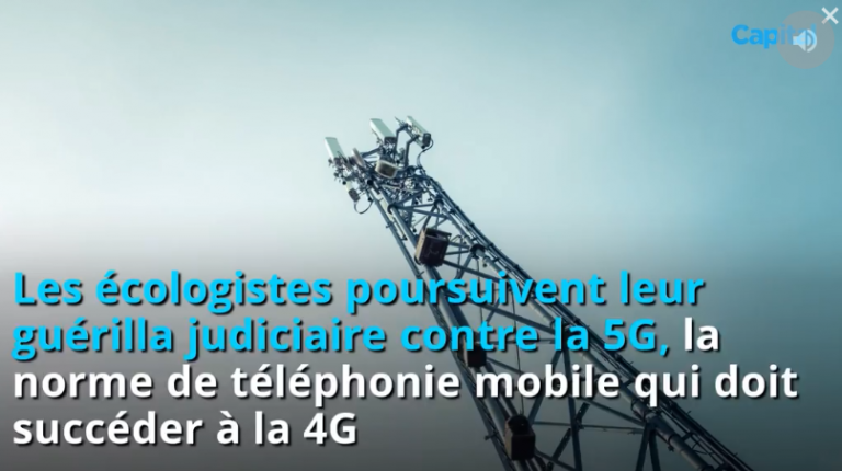 5G : 500 militants écologistes assignent Orange, Bouygues, SFR et Free en justice
