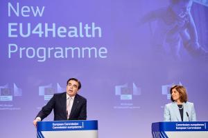 Budget de l'UE pour la relance : la Commission propose un nouveau programme de santé, intitulé EU4Health, doté d'un budget de 9,4 milliards d'euros