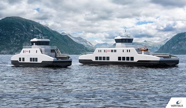 2 ferries électriques lancés fin 2021 en Norvège