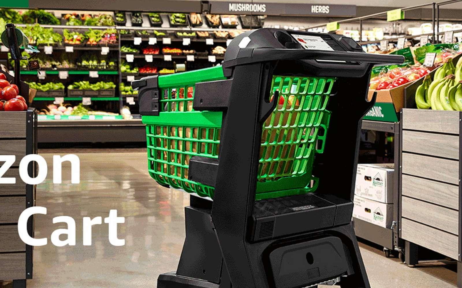 Amazon lance un chariot intelligent qui scanne vos courses