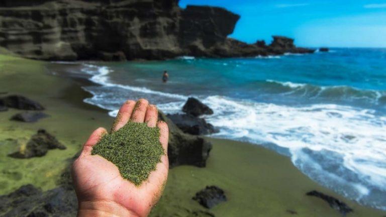 Aux Caraïbes, on teste des plages de sable vert pour lutter contre le changement climatique