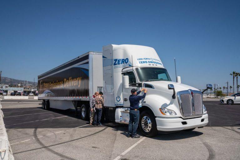 Californie : des quotas de camions zéro émission dès 2024
