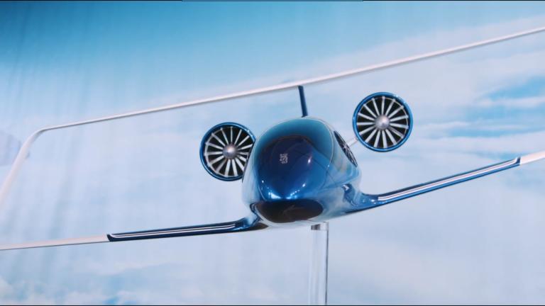 Silent Air Taxi, un taxi volant qui promet d'être silencieux