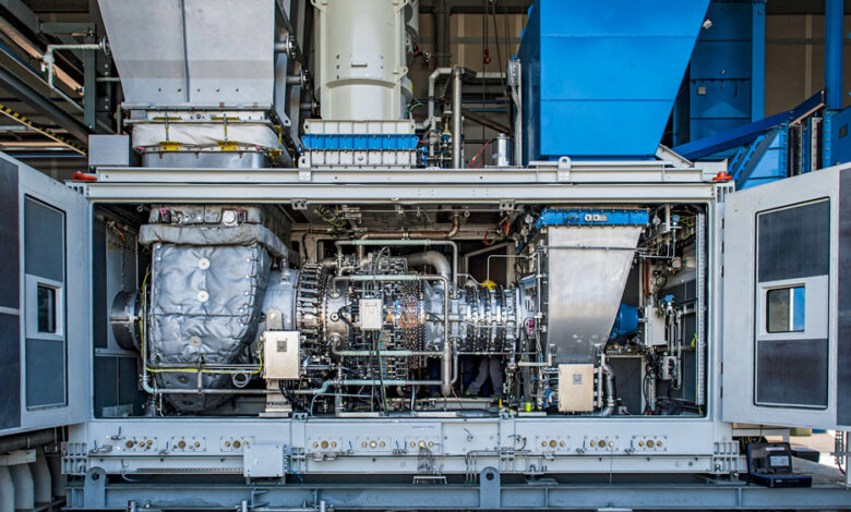 World's First Hydrogen Blend Turbine for Gas Networks