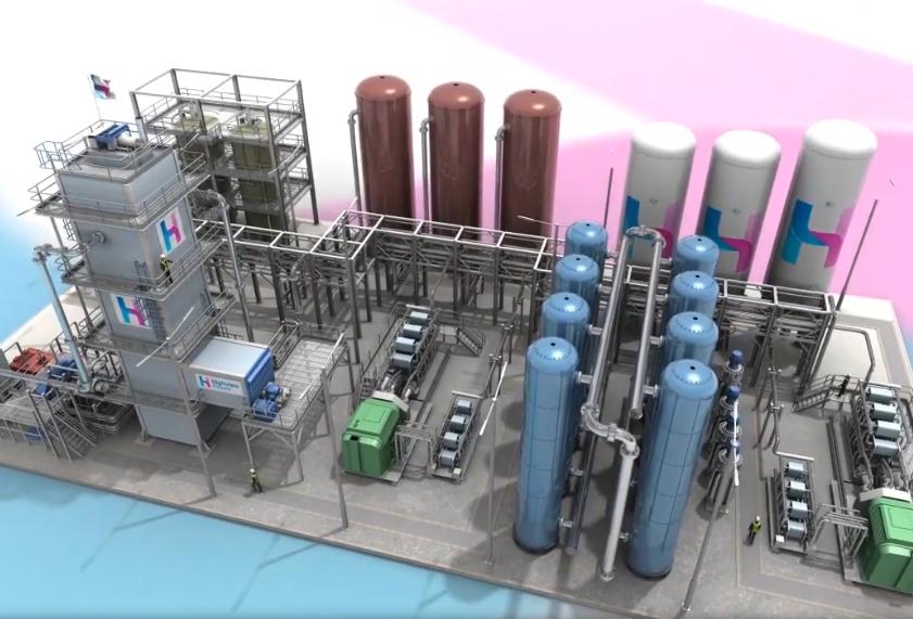La plus grosse batterie à air liquide du monde en construction au Royaume-Uni
