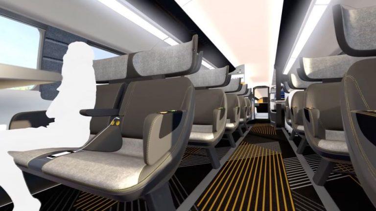 Le TGV futuriste de la SNCF sera sur les rails pour les JO de 2024
