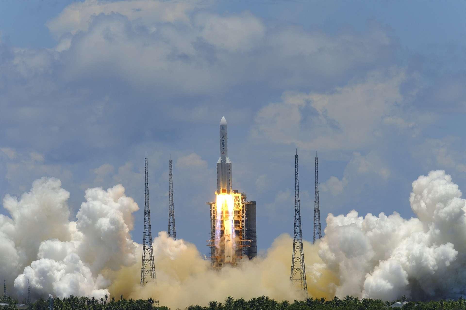 Tianwen-1 : lancement réussi de l'ambitieuse mission chinoise vers Mars