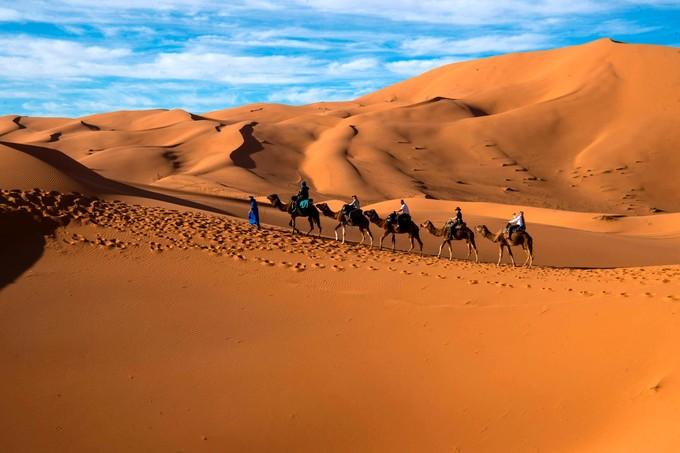 Le désert du Sahara gagne dangereusement du terrain