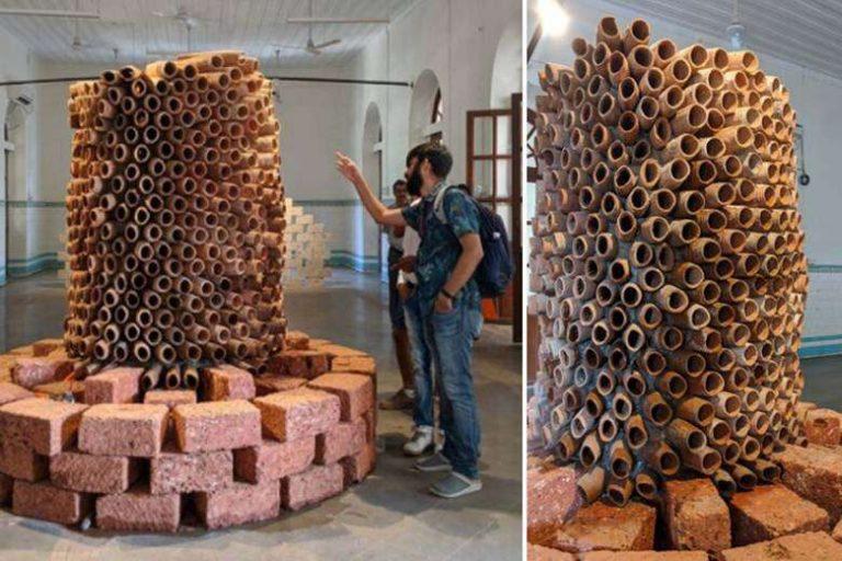 Canicule : un architecte indien invente une climatisation économique, écologique… et artistique !