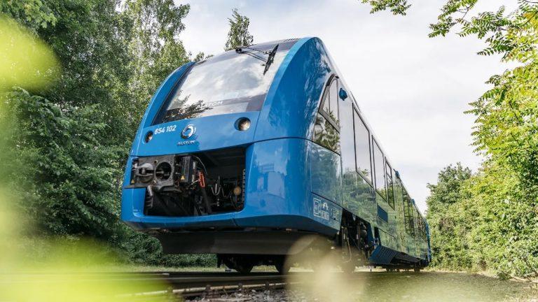 Ces trains circulent grâce aux énergies renouvelables