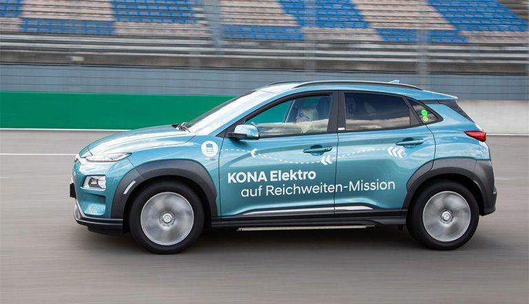 Hyundai Kona : Plus de 1.000 km d'autonomie pour le SUV électrique